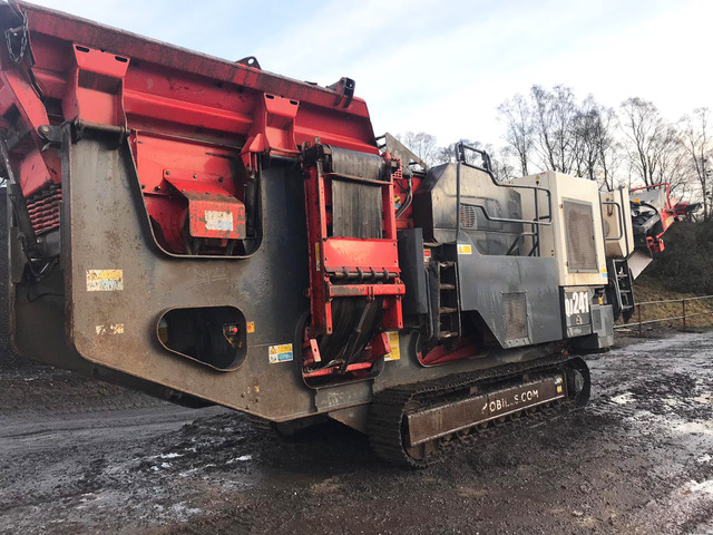 Agregates & Crushing - Jaw Crusher - Sandvik/Extec/Fintec - QJ241